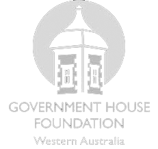 Government House Foundation Logo Inverted