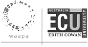Western Australian Academy of Performing Arts at Edith Cowin University Logo