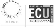 Western Australian Academy of Performing Arts at Edith Cowin University Logo